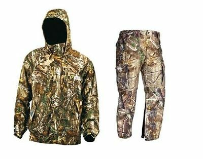 Scent Blocker Outfitter- Jacket / Pant Combo- Realtree Xtra- With Trinity-2XL