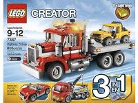 LEGO Creator set 7347: Highway Pickup