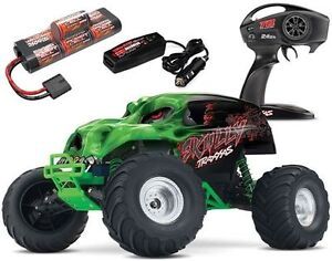 Traxxas RC 1/10 Skully Monster Truck