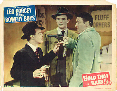 Hold That Baby Leo Gorcey And The Bowery Boys 1949 Original Lobby Card
