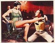 Cyd Charisse Signed