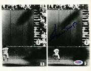 Willie Mays Autograph