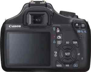 Canon EOS Rebel T3 12.2MP Digital SLR Camera with EF-S 18-55mm Windsor Region Ontario image 2