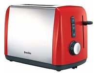 Breville Red 2 Slice Toaster