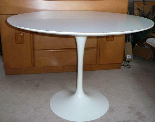 knoll saarinen tulip table ebay. Black Bedroom Furniture Sets. Home Design Ideas