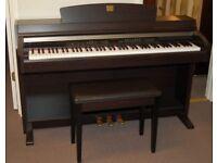 Yamaha Clavinova CLP-230 Digital Piano in rosewood Full Size 88 keys 3 pedals stool