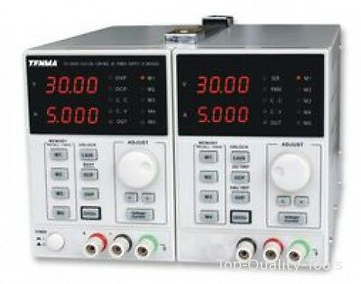 Bench Top Power Supply 0-30v 5a With Twin Outputs