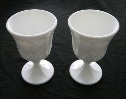 Fenton Milk Glass Drinking Glasses