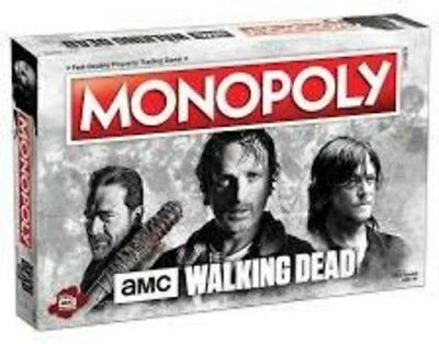 USAopoly MONOPOLY®: The Walking Dead AMC Board Game