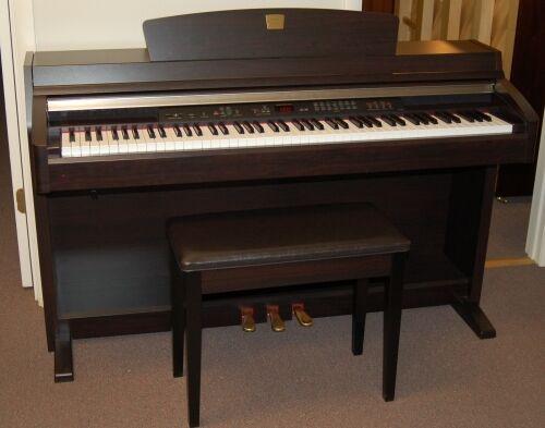 Yamaha clavinova clp 230 digital piano full size 88 keys 3 for Yamaha full size keyboard with 88 keys