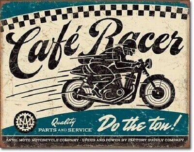 New Cafe Racer Motorcycles Decorative Metal Tin Sign