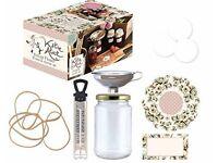KATIE ALICE cottage flower jam preserve starter set