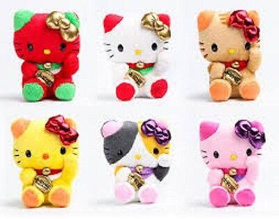 Hello Kitty Mascot Plush: Chinese Lucky Cat 4