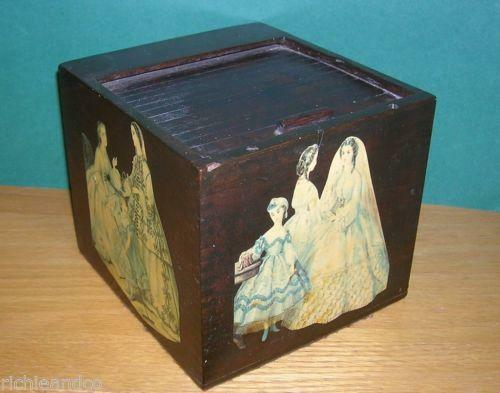 Large New Wooden Storage Box Diy Crates Toy Boxes Set: Wooden Box Decoupage