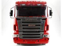 Bausatz Rahmenabdeckung clean für Tamiya Scania R470 2-Achser Truck 1:14 No.2