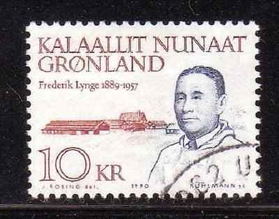 Greenland--#231 Used--Frederik Lynge--1990