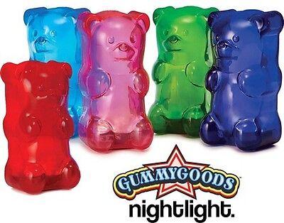Gummy Lamp Gummy Bear Night Light Lamp Visual Stimulation Relaxation Nightlight