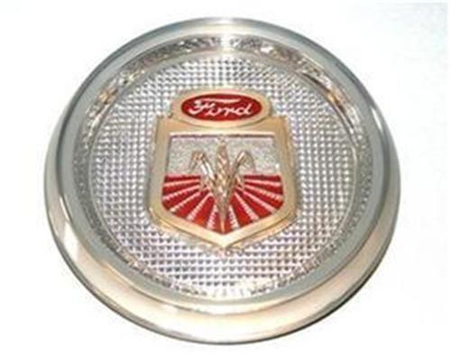 Farm Tractor Hood Ornament : Ford tractor emblem ebay