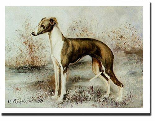 Italian Greyhound Profile 12 Notecards Envelopes (Note Card) Ruth Maystead IRG-3