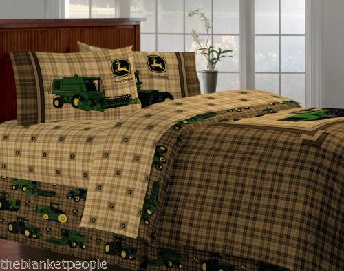 New Holland Tractor Bedding : John deere tractor bed ebay