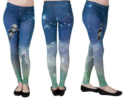 Firefly Universe Serenity Women's Leggings Space Stars Officially Licensed NEW - Space Fireflies