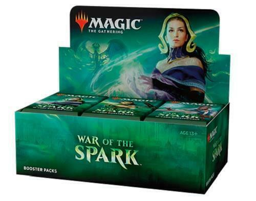Mtg War Of The Spark Booster Box - Factory Sealed - Free Priority Shipping!