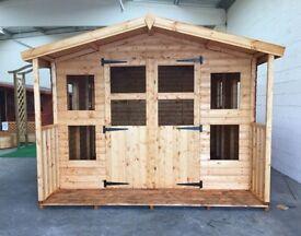 Shedheads- We custom make sheds and summerhouses, any size made