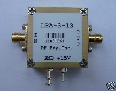 10khz-3000mhz Wideband Rf Amplifier Lpa-3-13 New Sma