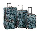Leopard Print Suitcases