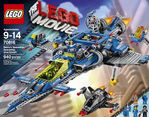 LEGO MOVIE Benny's Spaceship - RETIRED and FACTORY SEALED