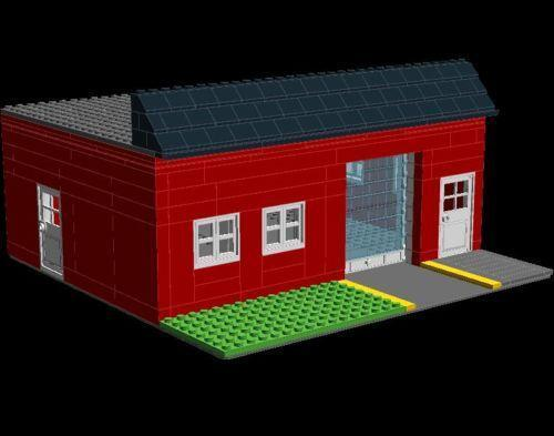 Lego Garage Ebay