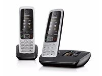 Gigaset C430A Cordless Phone with Answering Machine and Anonymous Call Silencing (Pack of 2)