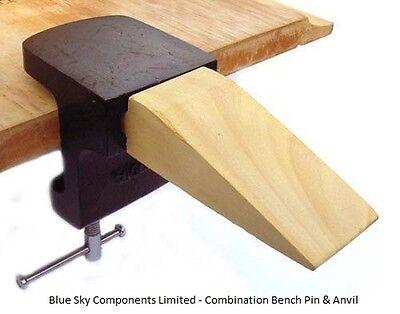 Combinación banco pin y yunque con latón fibra Martillo joyeros manualidades