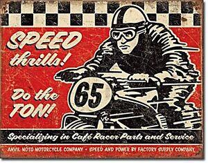 Affiche Moto Cafe Racer