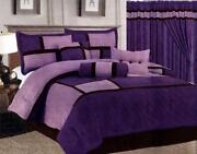 Queen Bed in A Bag Purple