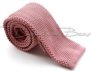 Mens Solid Pink Ties