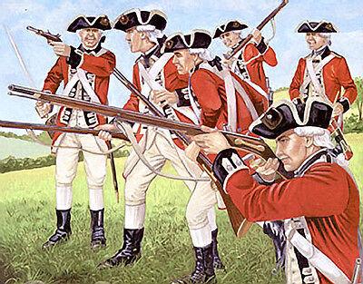 NEW Imex 1/72 British Redcoats 512