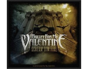 BULLET-FOR-MY-VALENTINE-scream-aim-fire-2012-WOVEN-SEW-ON-PATCH-official-BFMV
