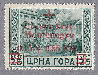 Montenegro 29 I postfrisch mit Befund Brunel