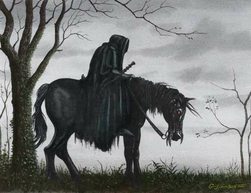 RINGWRAITH #2 LORD OF THE RINGS ART PRINT