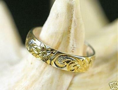 Silver Hawaiian 14k Princess Scroll Keiki/Toe Ring 5.25
