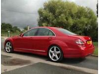 Mercedes-Benz S320 CDI PACK AMG (RED COLOUR)