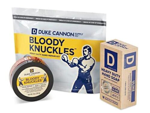 Duke Cannon Bloody Knuckles Hand Repair Kit (Uline Special Issue)