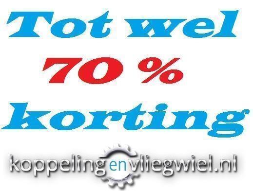 TOT WEL 70%KORTING KOPPELING + VLIEGWIEL 2 / 5 JAAR GARANTIE