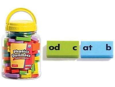 Learning Resources - Children's Phonics Dominoes Educational Set - Short Vowels