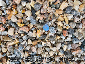 Base Gravel - Crushed Rock - Crusher Dust - River Rock - Sand