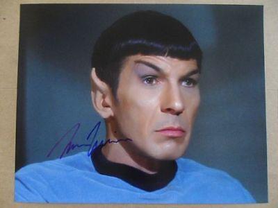 "Leonard Nimoy Signed ~Autographed Photo ""Darkness"""
