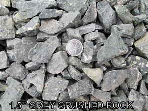 Base Gravel - Crushed Rock - Crusher Dust - River Rock - Sand