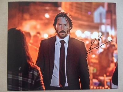 Keanu Reeves Signed Autographed Photo Action Star  - $5.77