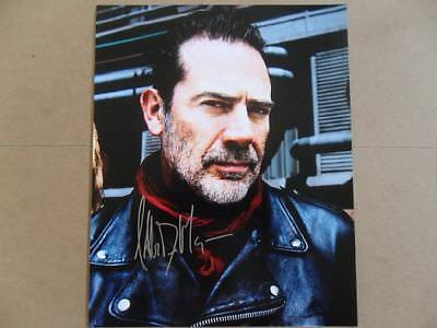 Jeffrey Dean Morgan Signed Autographed Photo Walking Dead  - $15.52